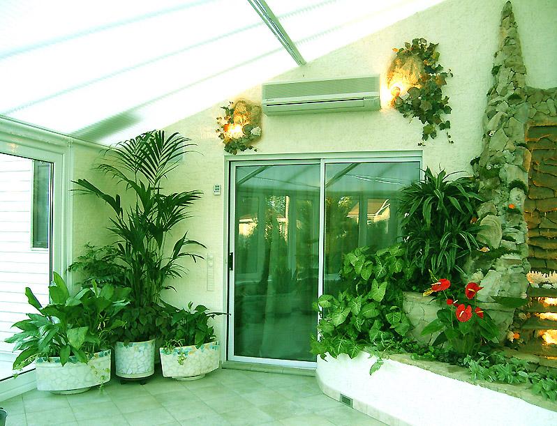 Обустройство зимнего сада в частном доме - сад для жизни.