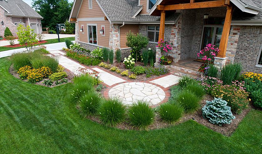 Ландшафтный дизайн загородного участка